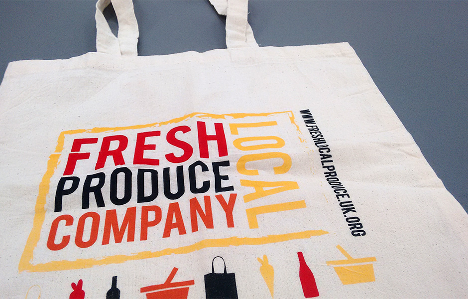 Tote bag printing Norwich.